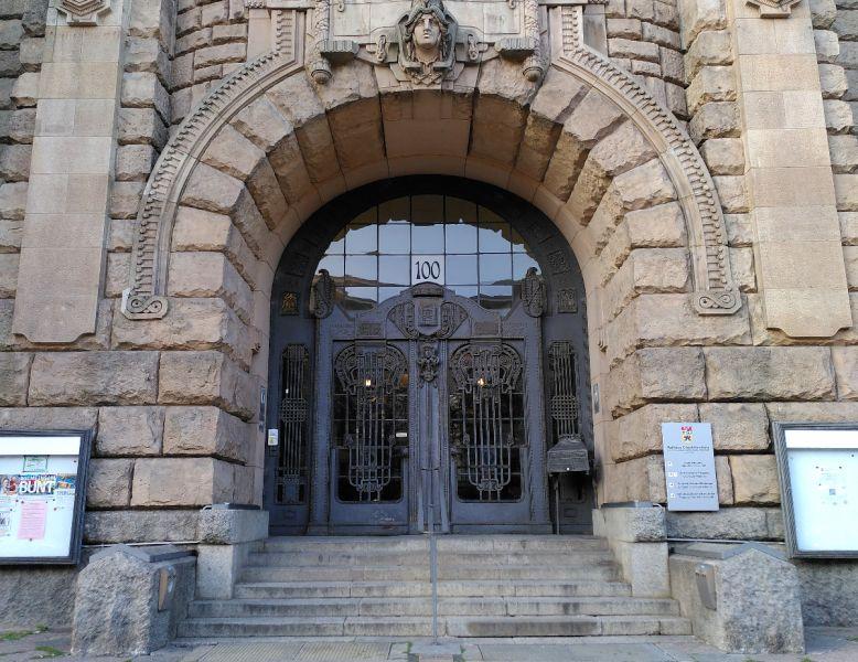 Haupteingangsportal Rathaus Charlottenburg