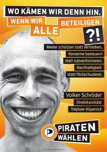 Direktkandidatenplakat Volker Schröder (klein)